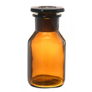 Arco Bottle, Reagent, Wide Neck, Glass Stopper, Amber Color, Capacity-60 ml