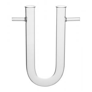 Absorption Tubes,U-Form,With Side Tubes-125x15mm